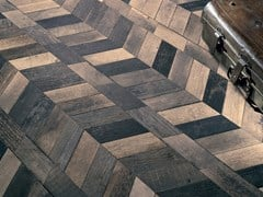 Pavimento in gres porcellanato effetto legnoCHEVRONCHIC   Pavimento - CERAMICA FIORANESE