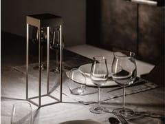 Lampada da tavolo a LED senza fili in metallo con dimmerCHIA - APP DESIGN