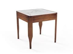 Tavolino quadrato in legno massello CHIARA | Tavolino - Oliver B. Casa