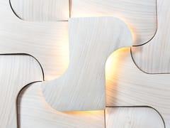 Rivestimento tridimensionale modulare in legnoCHIKAGO - NEXT LEVEL DESIGN STUDIO