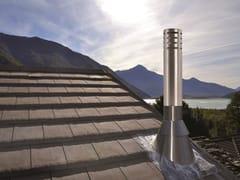 Terminali architettonici serie design per canne fumarieTERMINALI DESIGN - SCHIEDEL