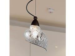 Lampada a sospensione in vetro di Murano CHIOCCIOLA MS 241 - Chiocciola