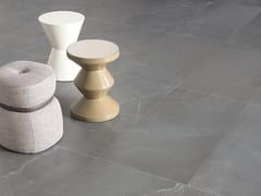 Pavimento/rivestimento in gres porcellanato effetto pietra CHORUS GREY - Chorus