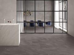 Pavimento/rivestimento in gres porcellanato effetto pietra CHORUS TOBACCO - Chorus