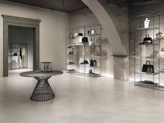 Pavimento/rivestimento in gres porcellanato effetto pietra CHORUS WHITE - Chorus