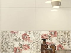 Rivestimento in ceramica CHROMA | Decoro Flower Ivory Coral - MARAZZI GROUP