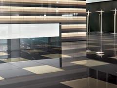Pavimento/rivestimento ingelivo in gres porcellanato per interni ed esterni CHROMOCODE3D IVORY BLACK - Chromocode3d