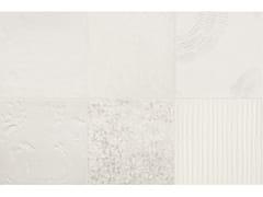Pavimento/rivestimento in gres porcellanato smaltatoCHYMIA MIX 1 WHITE - MUTINA