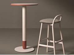 Tavolo alto rotondo in legnoCIGAR 02 | Tavolo rotondo - VERY WOOD