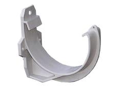 Accessorio per canale di gronda in PVC CIP100GN - First Plast