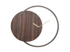 Orologio in legno da pareteCIRCLE - TONIN CASA