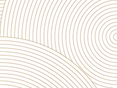 Extratapete, CIRCLES #02 Carta da parati geometrica in carta non tessuta