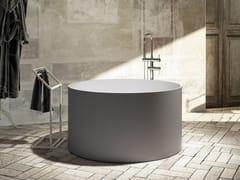 Relax Design, CIRCULAR Vasca da bagno centro stanza rotonda in Luxolid®