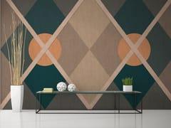 Carta da parati geometrica ignifuga lavabileCIRCUS - GIPRINT