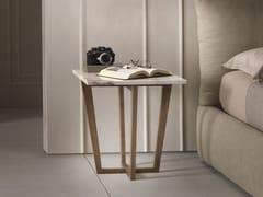 Tavolino basso in legno massello CITY | Tavolino quadrato -