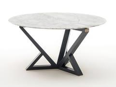 Tavolo da pranzo rotondo in marmo CITYLIFE | Tavolo in marmo - Milano Collection