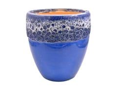 Vaso da giardino fatto a mano in terracottaCIVITA BUBBLE BLUE - PAOLELLI GARDEN