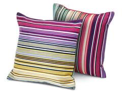 Cuscino in tessuto jacquardCLAREMONT | Cuscino quadrato - MISSONI HOME