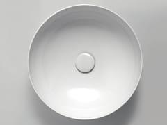 Lavabo da appoggio rotondoCLAS+ | Lavabo rotondo - AZZURRA SANITARI IN CERAMICA