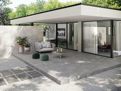 Pavimento/rivestimento effetto pietra per interni ed esterniCLASH ESSENCE - CERAMICHE CAESAR