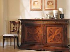 Sedia in legno massello con schienale apertoPOSITANO | Sedia - ARVESTYLE
