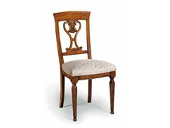 Sedia in legno massello con schienale apertoCAVOUR | Sedia - ARVESTYLE