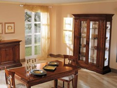 Vetrina in legno masselloPOSITANO | Vetrina - ARVESTYLE