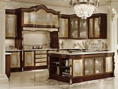 Cucina in legno con isola OPERA | Cucina - Opera