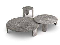 Tavolino rotondo in marmoCLEMO - GALLOTTI&RADICE
