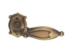 Maniglia in ottone su rosetta CLEOPATRA CLASSIQUE | Maniglia su rosetta - Cleopatra