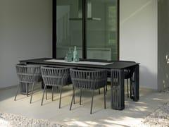 Tavolo da giardino rettangolareCLIFF   Tavolo rettangolare - TALENTI