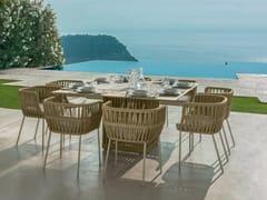 Tavolo da giardino quadratoCLIFF   Tavolo quadrato - TALENTI
