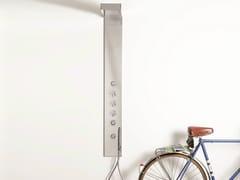 Colonna doccia a parete con doccetta CLOCK WORK   Colonna doccia a parete - Clock Work