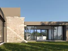 Porta-finestra in alluminio e legnoCLOUD GLASS | Porta-finestra alzante scorrevole - BG LEGNO