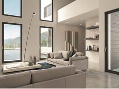 Porta-finestra a battente in alluminio e legnoCLOUD - BG LEGNO