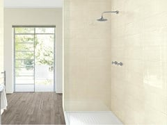Rivestimento tridimensionale in ceramica CLOUD | Struttura Breeze 3D Cream - MARAZZI GROUP