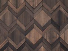Rivestimento tridimensionale in legno per interniCLUE - WONDERWALL STUDIOS