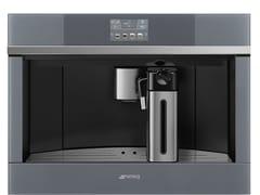 Macchina da caffè automatica da incasso in acciaio inox con macinacaffèCMS4104S - SMEG