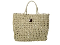 Borsa in seagrass COCONUT BUTTON - BAZAR BIZAR