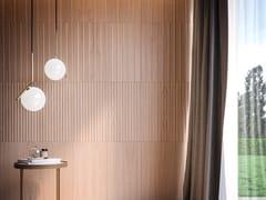Boiserie / Rivestimento tridimensionale in legnoCODE 3D - LATIFOGLIA