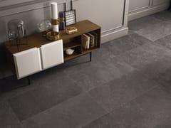 Pavimento/rivestimento in gres porcellanato per interni CODE ANTHRACITE - Code