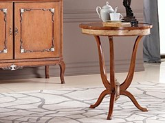 Tavolino rotondo in legno masselloKEVIN | Tavolino - ARVESTYLE