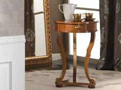 Tavolino rotondo in legno masselloILARIA | Tavolino - ARVESTYLE