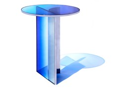 Tavolino rotondo in vetroNULL | Tavolino - BUZAO
