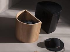 Tavolino / contenitore in frassinoLA CACHE | Tavolino - F&Y
