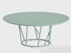 Tavolino da giardino rotondo in alluminioWILD | Tavolino - FAST