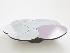Tavolino in pietra lavica da salotto COFFEE TABLE PINK - Etna Stone Table