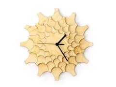 Orologio in compensato da pareteCOGWHEEL - ARDEOLA