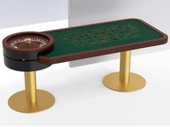 Tavolo da roulette rettangolare in metalloCOLONNE - TABLESWIN