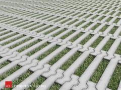 Grigliato erboso in calcestruzzo COMETA -